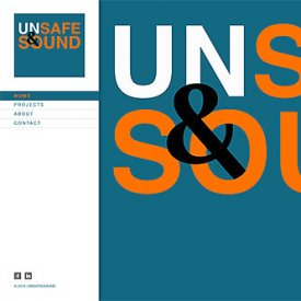 Unsafe and Sound website